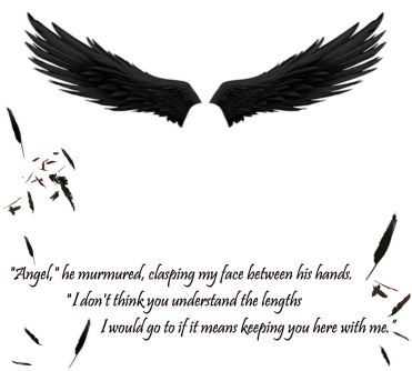 Quote from Hush Hush, made by me :)