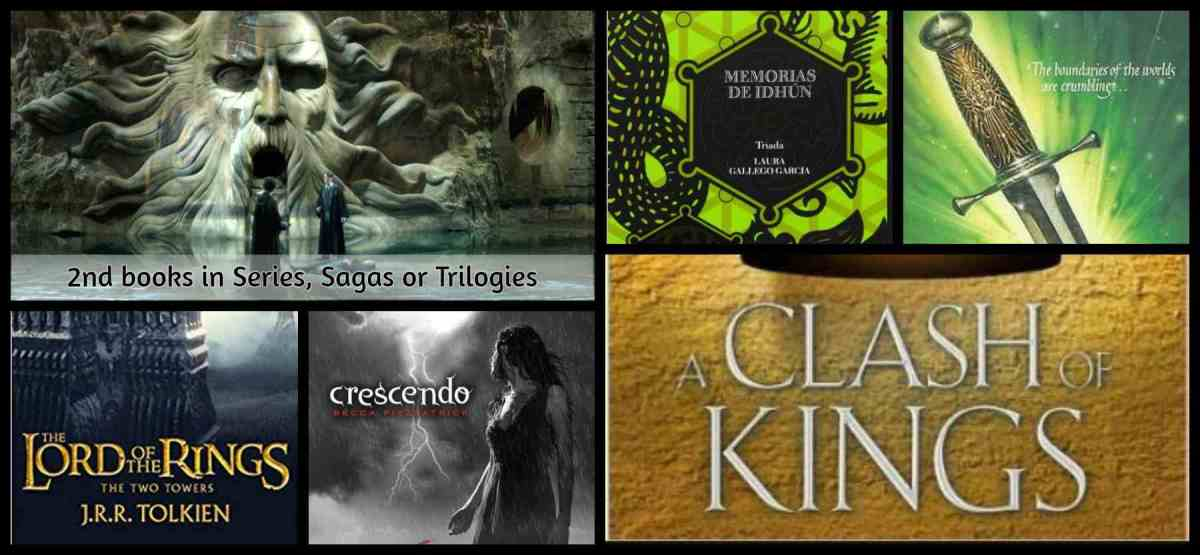 2nd books in Series, Sagas orTrilogies