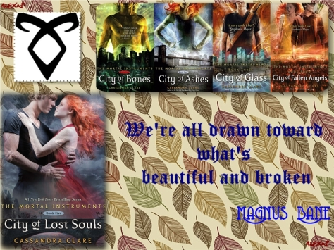 The Mortal Instruments By Casandra Clare