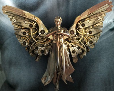 angel mecánico colgante tessa