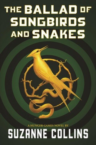 ballad of song birds and snakes book cover