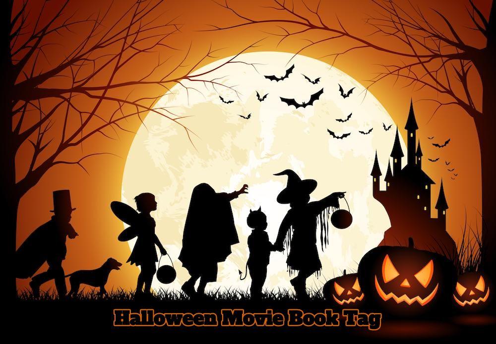 Halloween movie book tag challenge