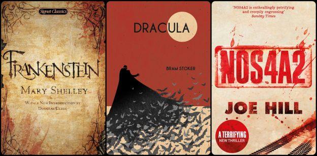 horror mystery books
