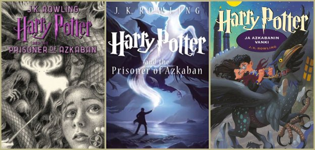 harry potter book 3 covers