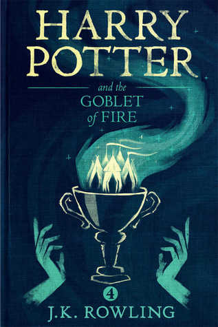 book cover 4 harry potter