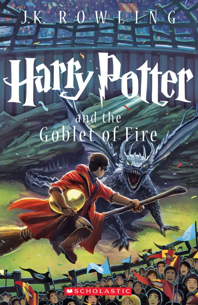scholastic cover goblet of fire